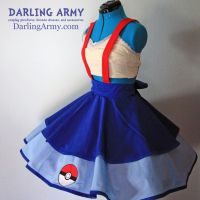 Misty Pokemon Cosplay Jumper Pinafore by DarlingArmy
