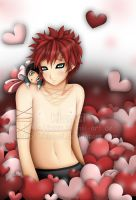 The Valentines Gaara by Klamsi