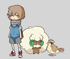Laziest pokemon trainer ever by azamono