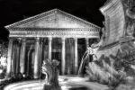 Black and White Pantheon in Rome HDR by Doctor-S