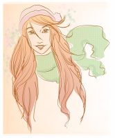 spring Lily by LilyRedHaired