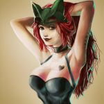 redhaired and weird -___- by stormglider