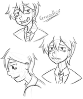 Greedler Sketches by Noah15th