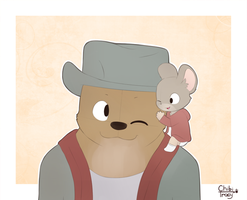 Ernest and Celestine by chibitracydoodles