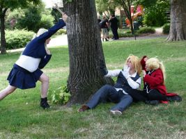 Attack on Elric - This one is gonna hurt... by HaouJudai