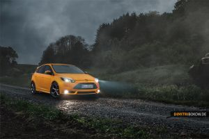 Ford Focus ST by DimitriBokowPhoto