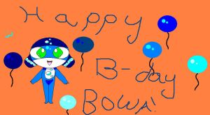 Happy B-day BOWA by HamhaPHKFan