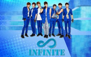 Infinite Blue Wallpaper by KpopGurl