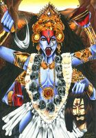 Hindu Mythology - Goddess Kali by Shiranui94