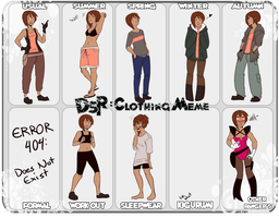 DSR Clothing Meme: Cori by MissingSock