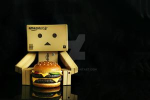 double quarter pounder. by alyanna