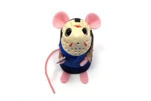 Jason Voorhees Mouse by The-House-of-Mouse