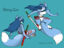 Shing Gui Character Profile by CreatureCreatingBabe