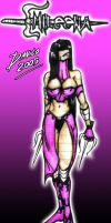Mileena by TheInsaneDarkOne