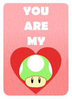 1-Up Love by PidgeonToe