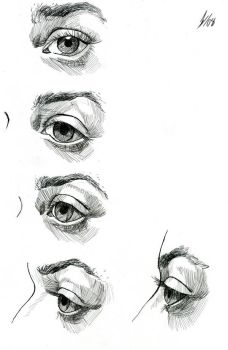 Eye Study by DarkKenjie