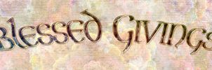 Blessed Givings Banner by VenkaLefay