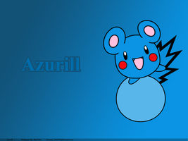 Azurill by Bad--Girl
