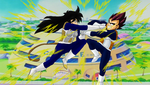 Argula vs Vegeta by Shadows-of-Trinity