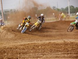 Two wheelers at motocross 1 by sakaphotogrfx