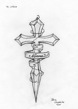 Cross Dagger by Psd-Princess