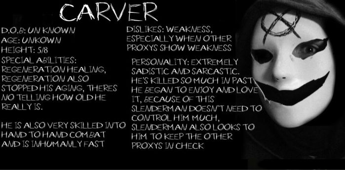 Carver profile by Rising-Darkness-Cos