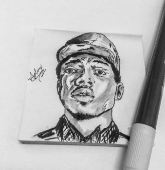 Chance the rapper by adamrai93