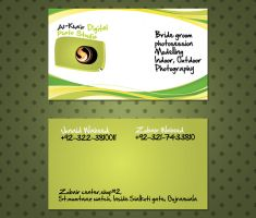 Photography Studio Card by ahsanpervaiz