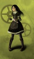 Steam Alice by Galactic-Valou