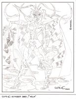 Pencils for Hela by EJJS