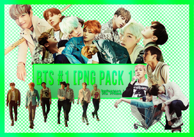 BTS#1 [Png Pack 1 by Kim Aidenn] by KimAidenn