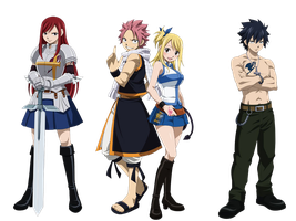 Fairy Tail by Roschi93