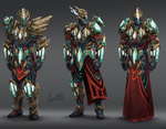 Tectonic Armour Variants by RS-LegendArts