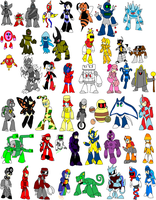 GRN robot masters part 2 by YingYangHeart