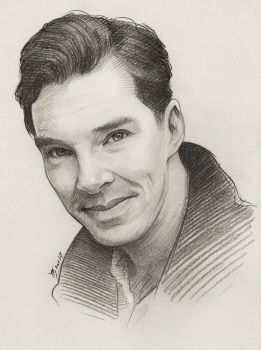 Benedict Cumberbatch by TendaLee