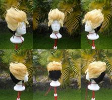 Vash the Stampede Wig Commission by RHatake