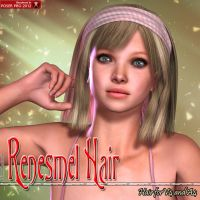 Renesmel Hair For V4 and A4 by emmaalvarez