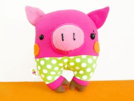 Quentin the Pig by casscc