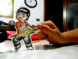 Paperchild 23. Percy Jackson by FuriarossaAndMimma