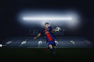 Leo Messi by andidecani