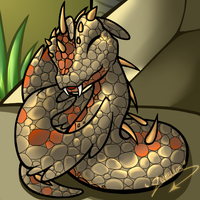 Neopets: Tyrannian Hissi by Xeohelios