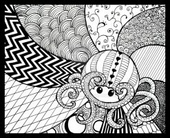 Zentangle by kayleighmc