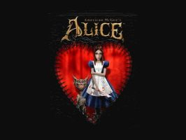 American McGee Alice desktop by shaeffer007