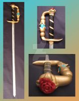 Utena Sword by RageKittenDesigns