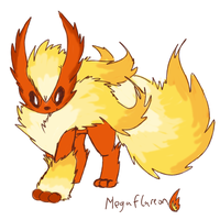 MEGA FLAREON by theIggyness