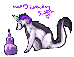 happy birthday switch by zepIyn