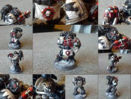 Deathwatch Space Marine Conversion 5 Black Templar by Waaaghzag