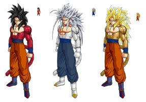 all goku 2 by Naruttebayo67