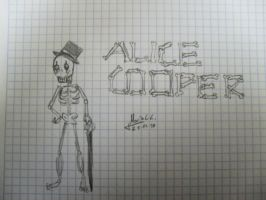 Skeleton Alice Cooper by glammetalfan