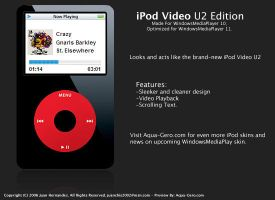 iPod Video - U2 Edition by juanchis